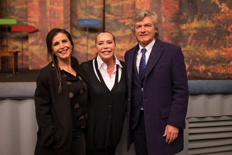 Antognoni e Barbara De Rossi