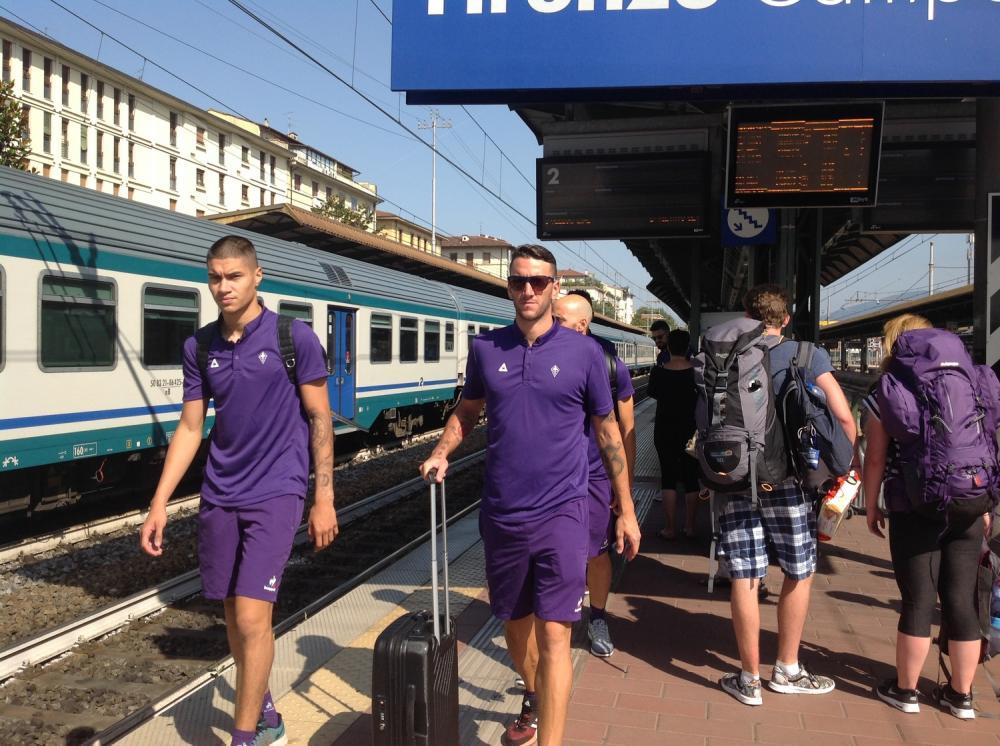 Fiorentina in partenza