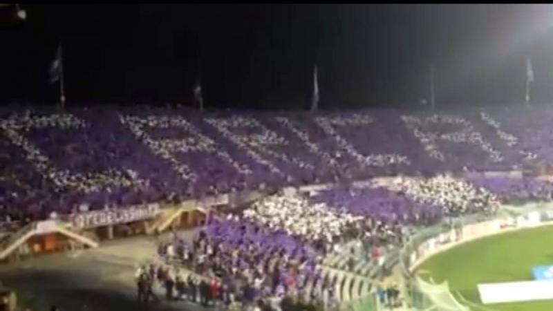 Coreografia Fiesole Fiorentina-Inter