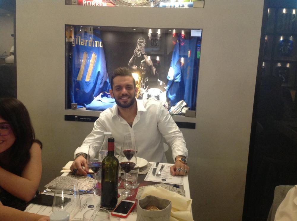 Marco Valenza Notte del calcio Sky Extra