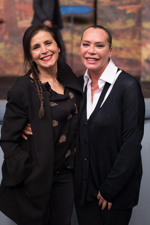 Rita Antognoni e Barbara De Rossi